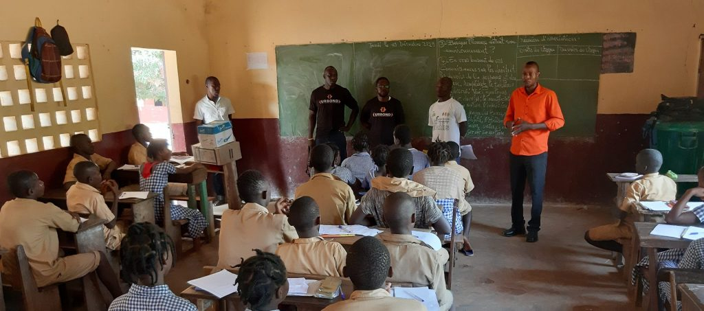 Provided teachers for classrooms